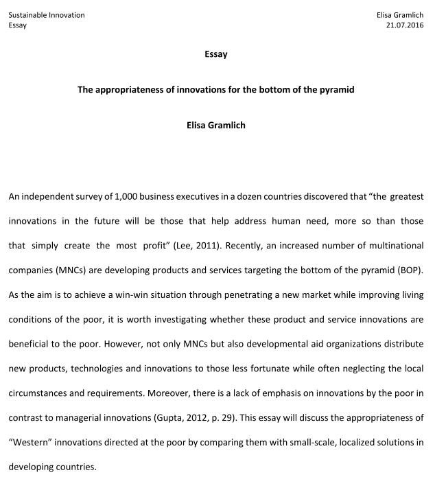 sustainable-innovation-essay