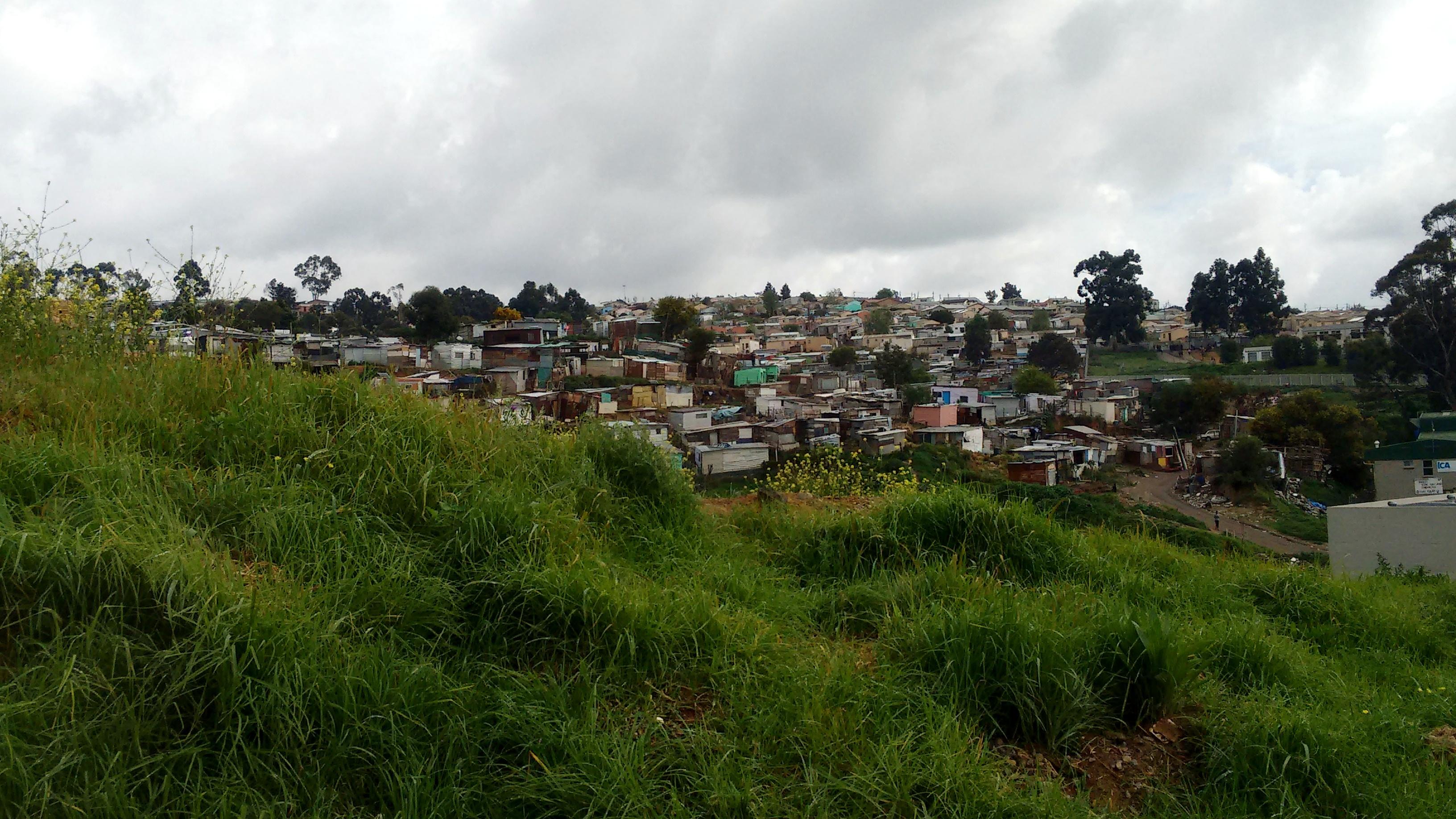 Enkanini (informal settlement in Stellenbosch)